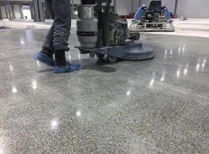 бетонные полы Воронеж - финишная полировка